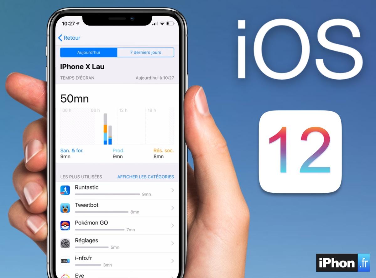 Temps d'écran : comment fonctionne la nouveauté iOS 12 qui aide à lutter contre l'addiction iPhone 1