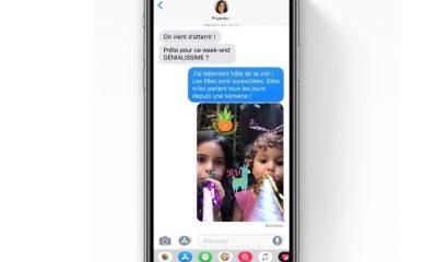 A savoir iOS 12 : les photos prises dans iMessage sont enregistrées dans la pellicule 9