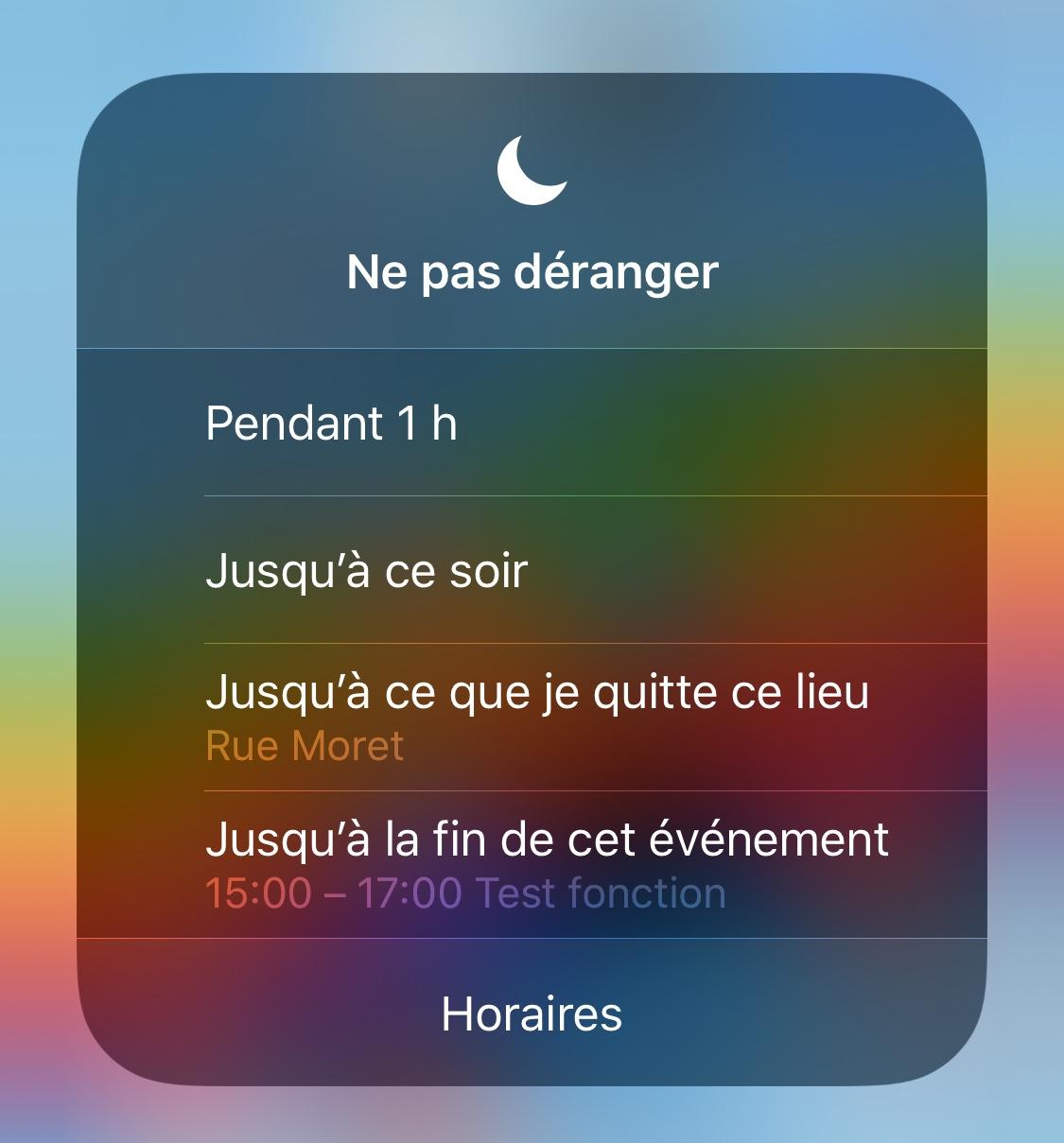 """iOS 12 : comment utiliser les nouveaux modes de la fonction """"Ne pas déranger"""" 1"""