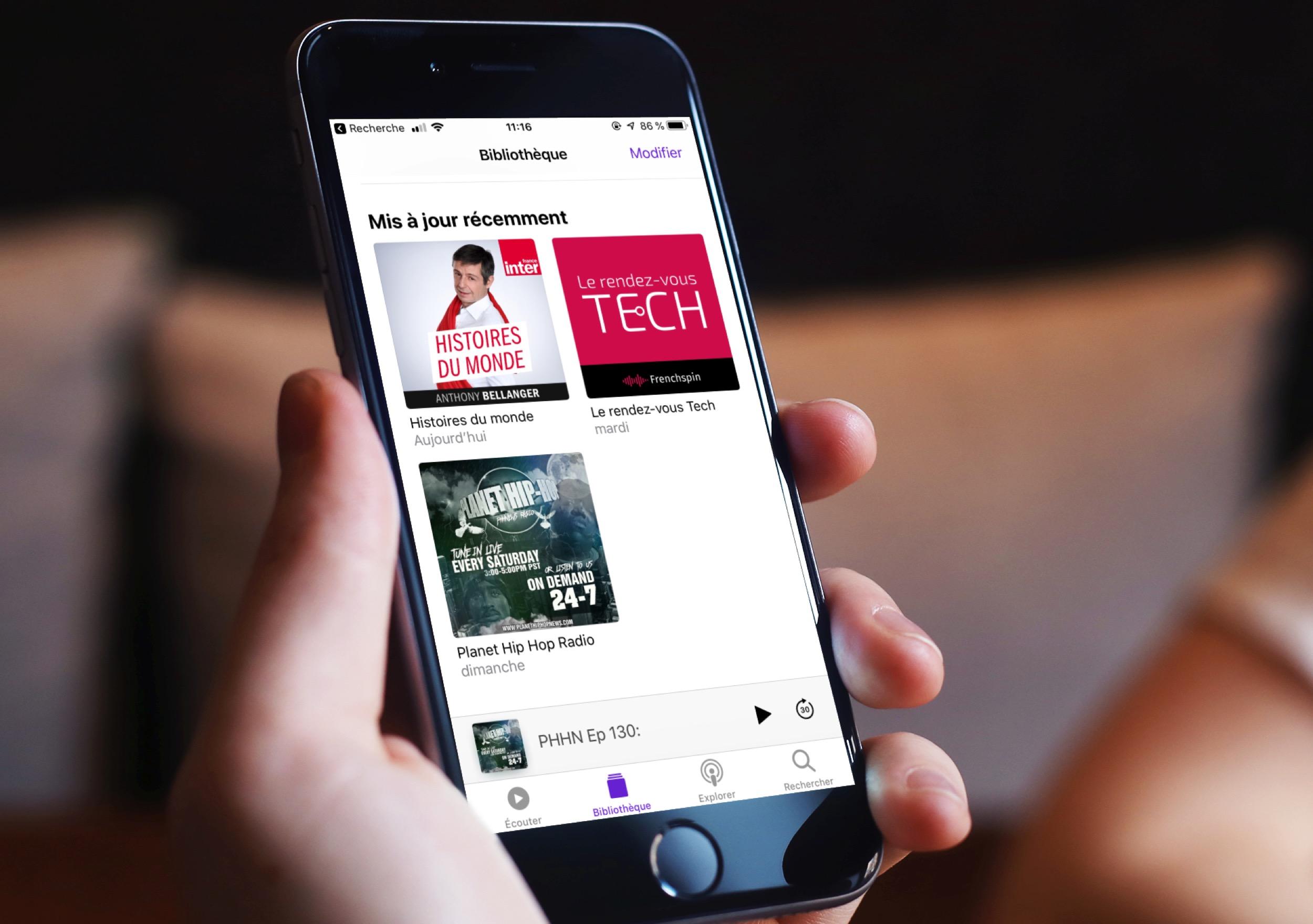 Des nouveautés pour les Podcasts aussi dans iOS 13 sur iPhone et iPad 1