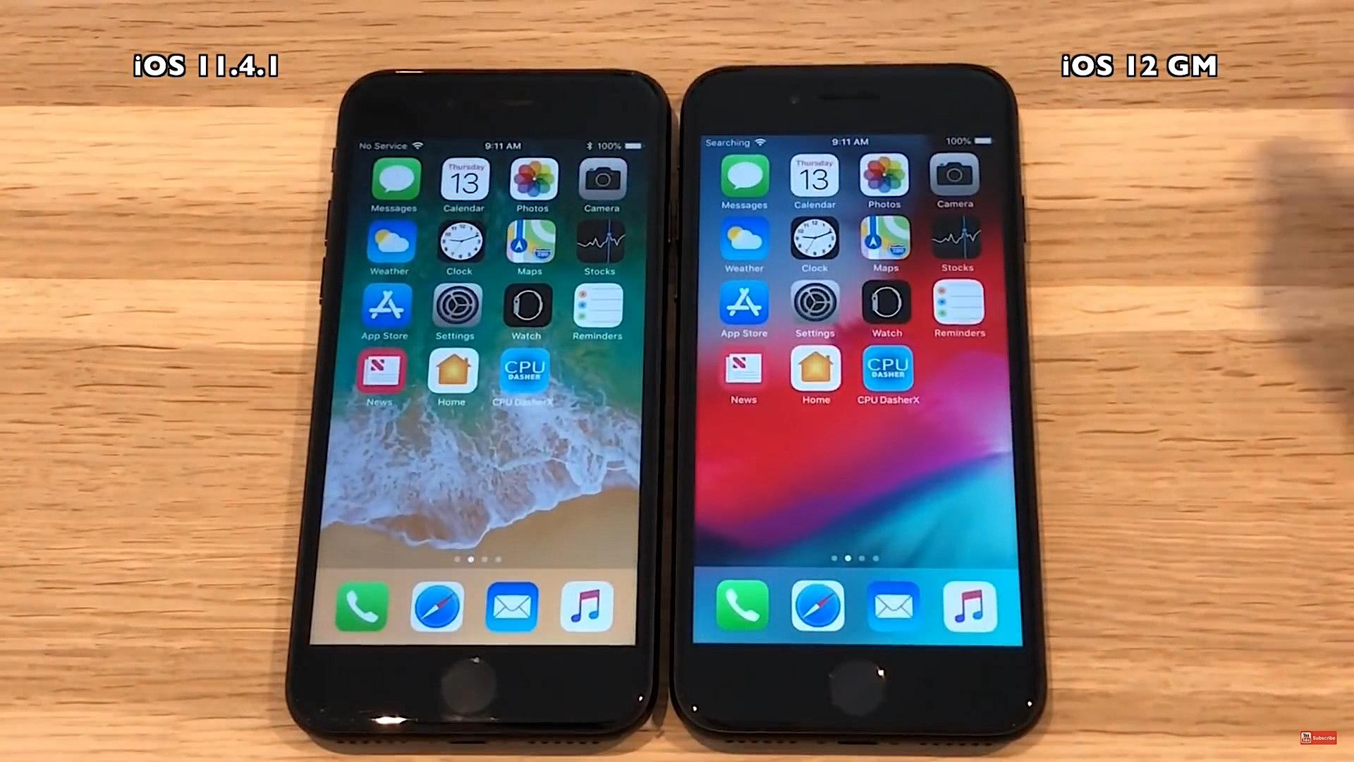 La version finale d'iOS 12 améliore-t-elle les performances : comparaison vidéo sur iPhone 5s, 6, 6s et 7 1