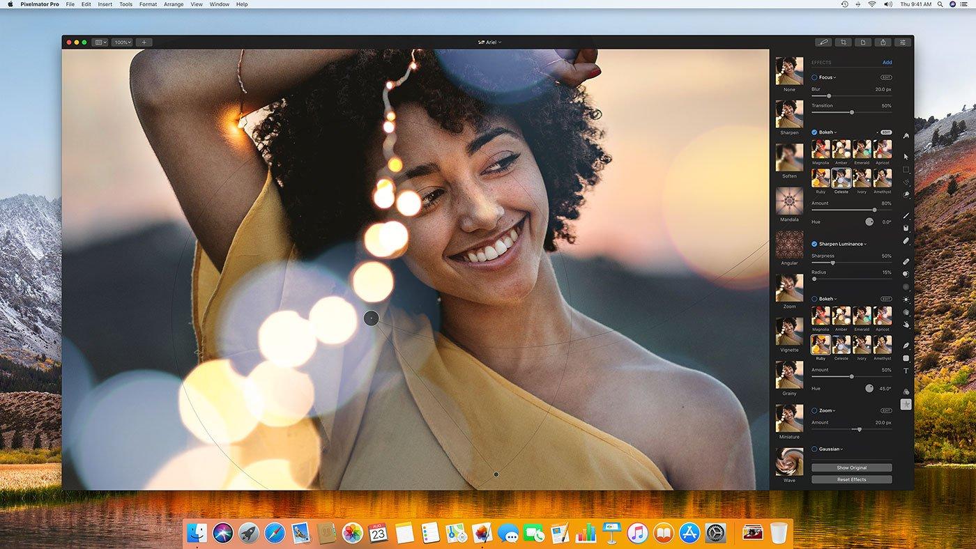 De nouveaux effets photo pour Pixelmator Pro, actuellement en promo sur Mac 1