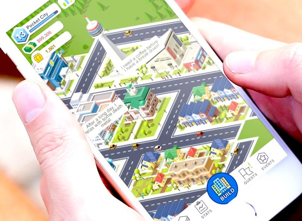 On a rejoué à Pocket City : ni pubs, ni temps d'attente, le rêve des amateurs de SimCity, à apprécier sur iPhone et iPad 1
