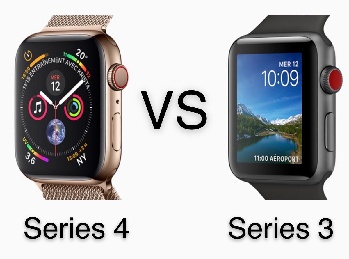 Quelles différences entre l'Apple Watch Series 3 et la Series 4 : laquelle choisir ? 1