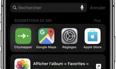 Les raccourcis Siri absents des anciens iPhone 19