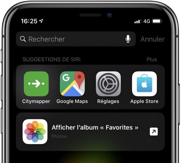 Les raccourcis Siri absents des anciens iPhone 1