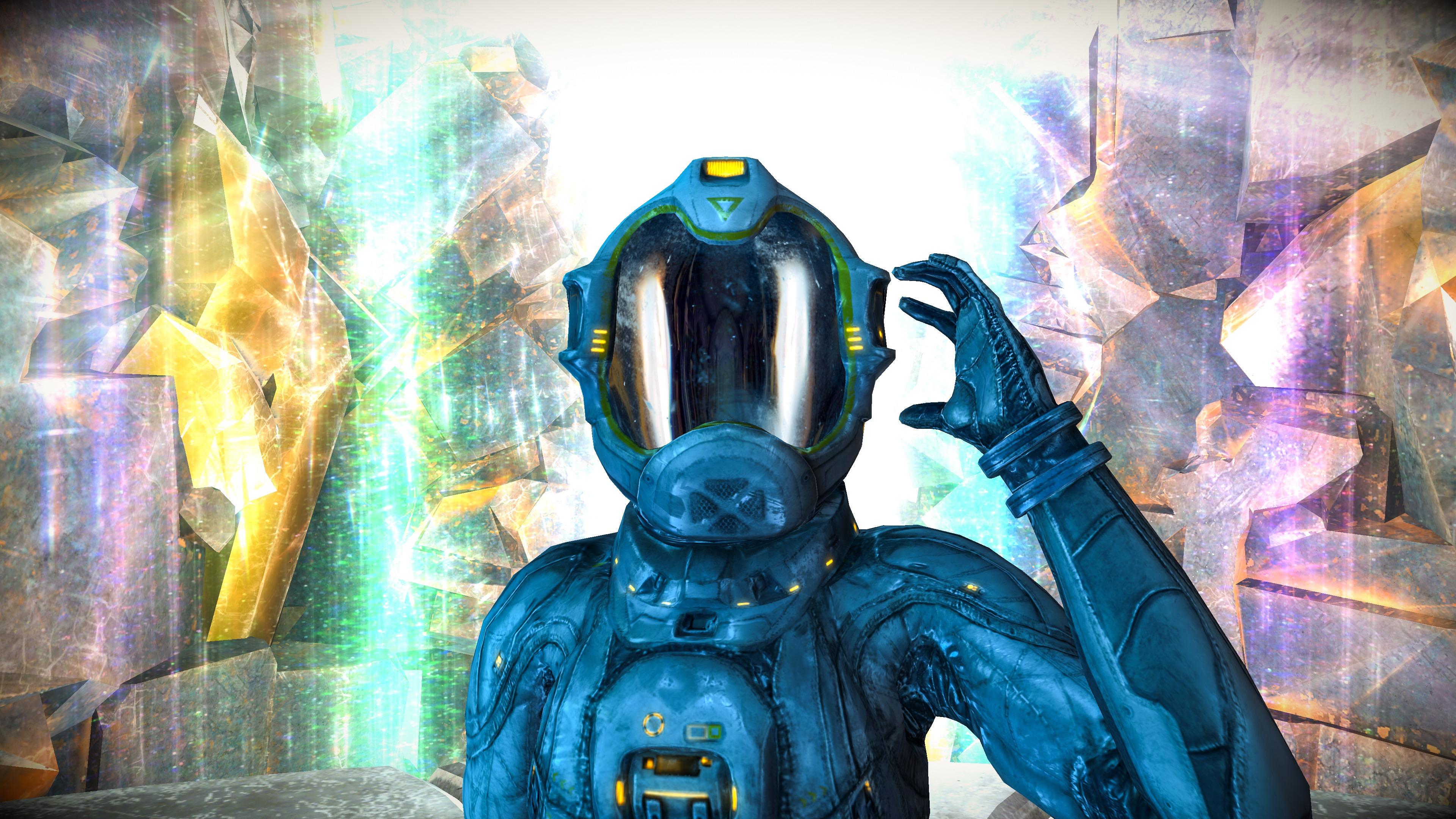 Retour à bord d'un vaisseau alien mystèrieux dans l'excellent Returner Zhero : le test 1