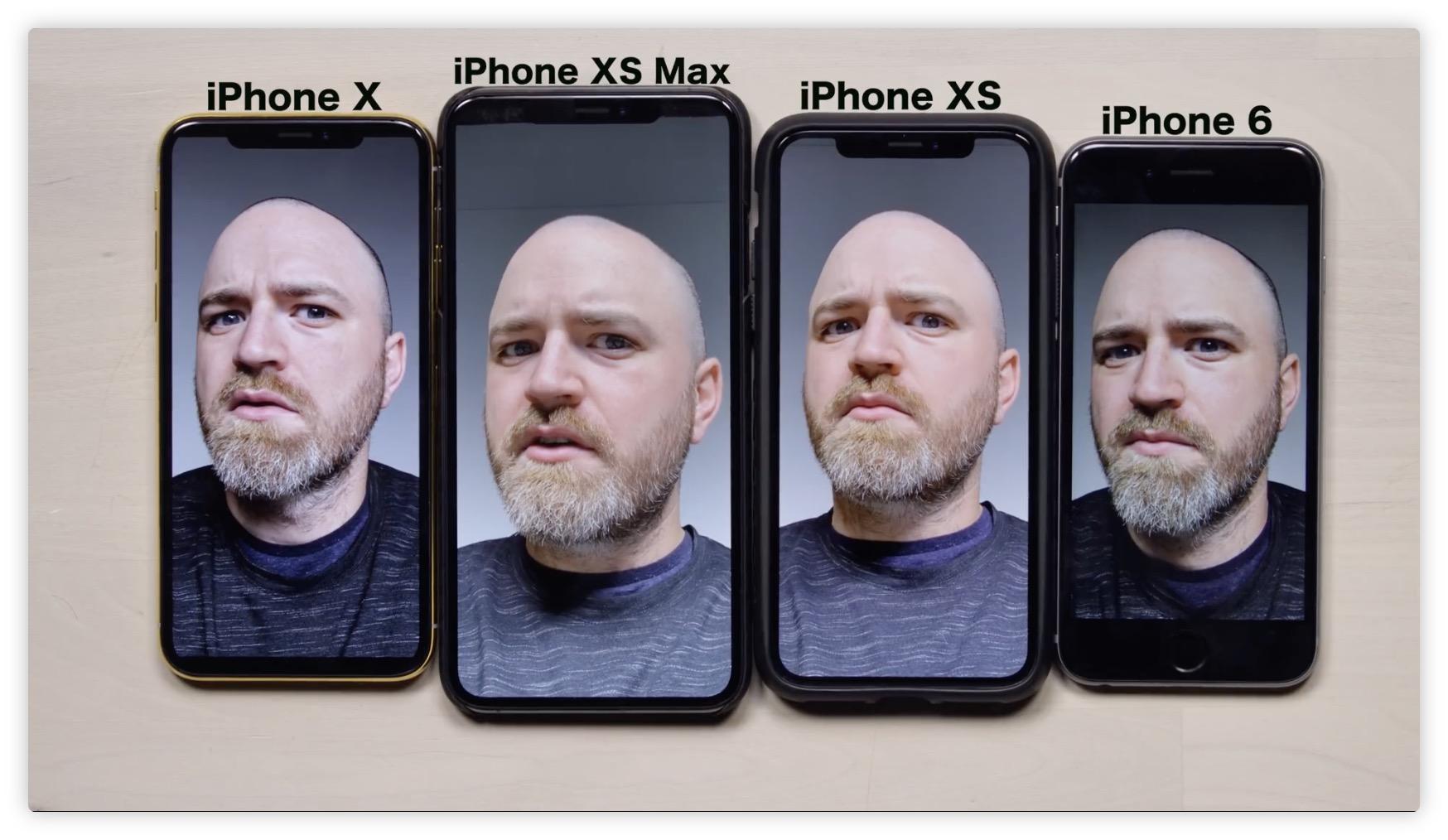 """Les selfies """"trop beaux"""" de l'iPhone XS corrigés avec iOS 12.1 : détails du bug 1"""