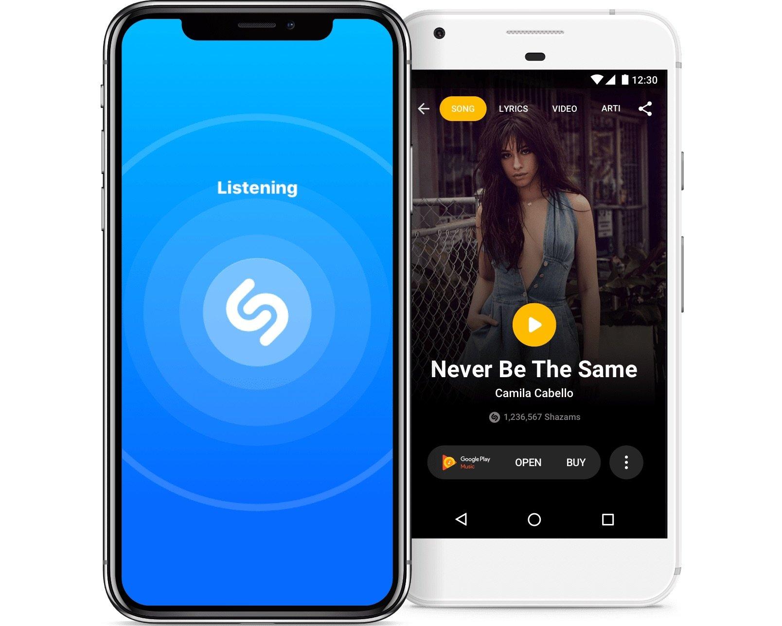La 1ère version Shazam depuis son rachat par Apple se tourne vers Instagram 1