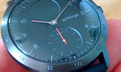 Test de la Steel HR Sport de Withings : une montre connectée pour la santé, cachée derrière des aiguilles mécaniques 3