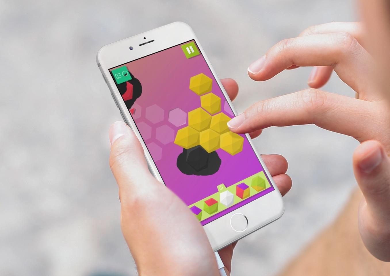 Tuiles animées et colorées : Troisix revisite le jeu de domino sur iPhone et iPad 1