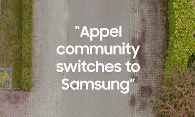 Samsung s'offre Appel (!) : une action de guerilla marketing qui fait des heureux 13
