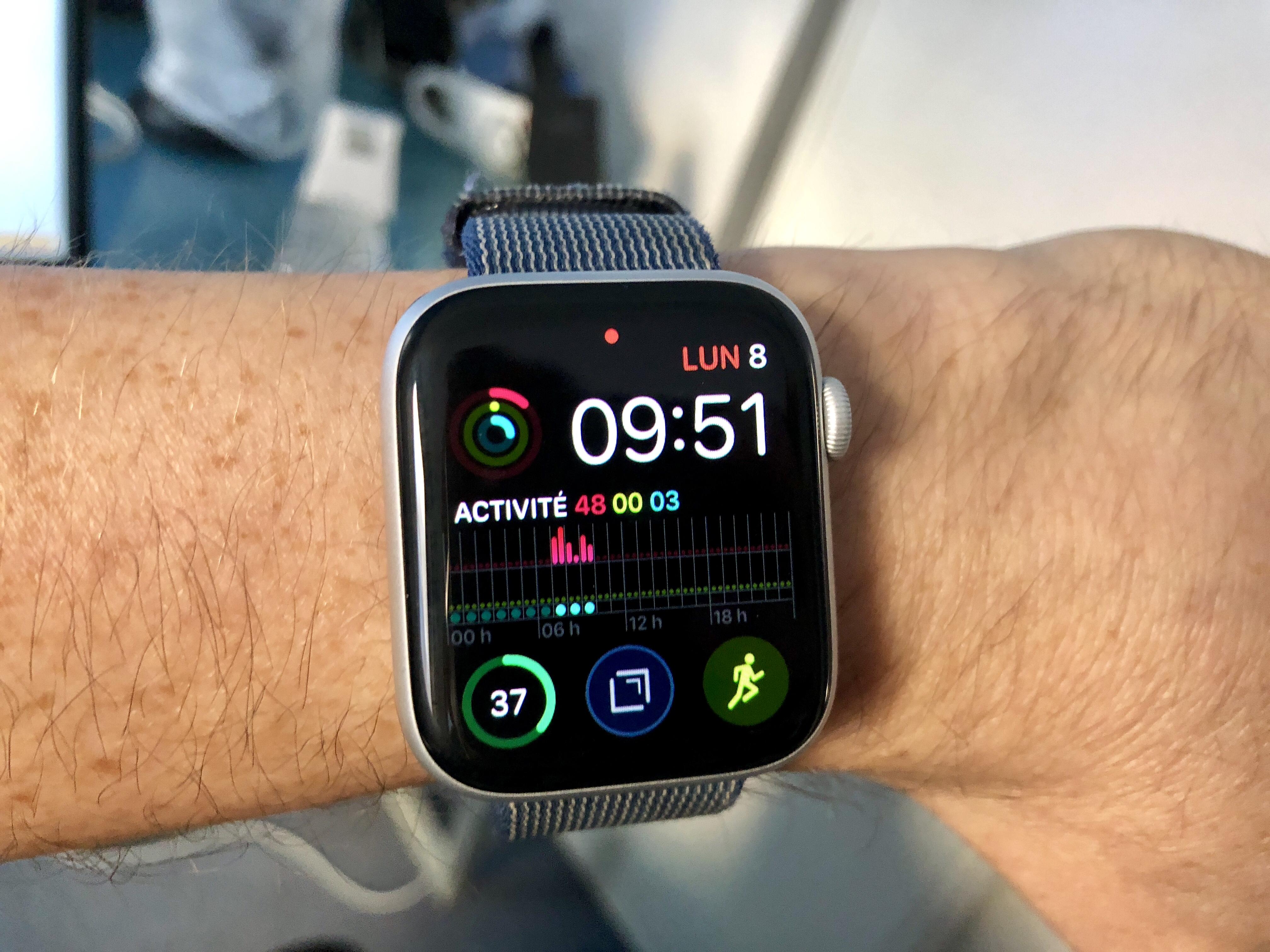 L'écran de l'Apple Watch Séries 4 mis à l'honneur cette année 1