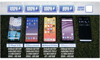 Comparatif : l'autonomie de l'iPhone XS Max face au Galaxy Note 9 de nouveau testée après la claque originale 17