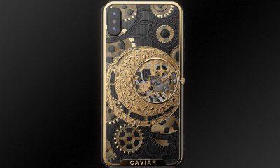 L'iPhone XS à 5500 euros intègre une montre mécanique au dos ! 11