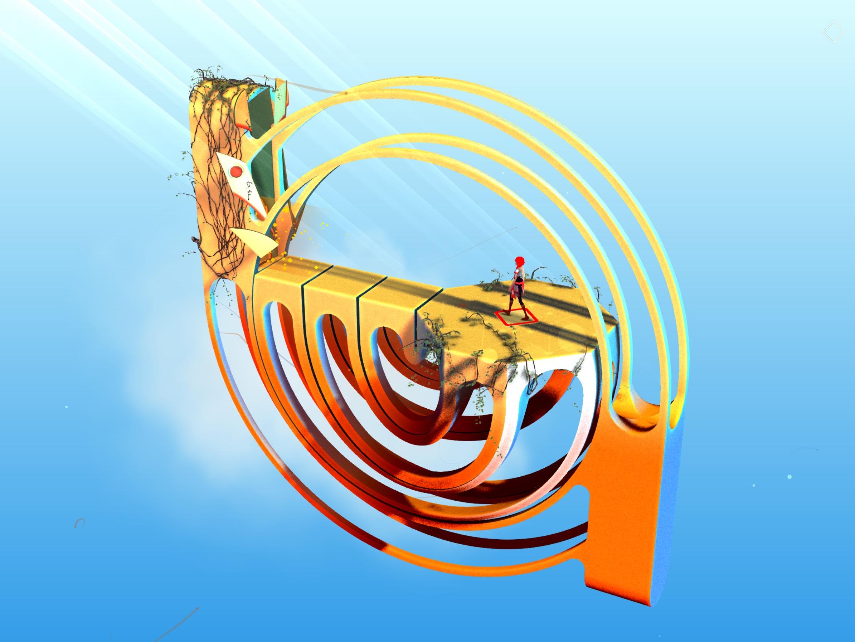 Test : Réalité Augmentée et graphismes époustouflants pour les énigmes d'Euclideans Skies, nouveauté iPhone, iPad 1