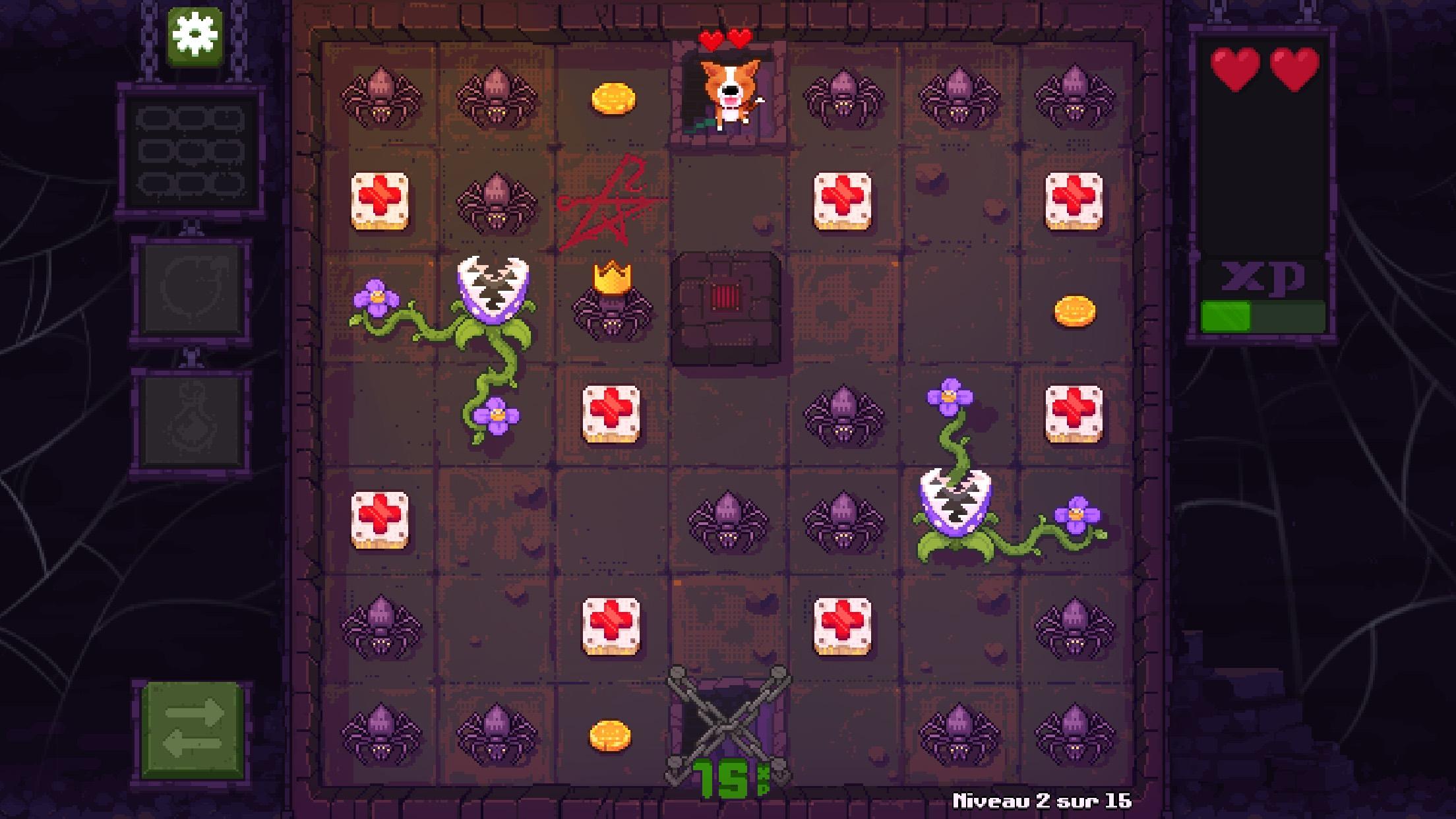 Après un joli succès sur PC, le chien de Fidel Dungeon Rescue débarque sur iOS, avec brio 1