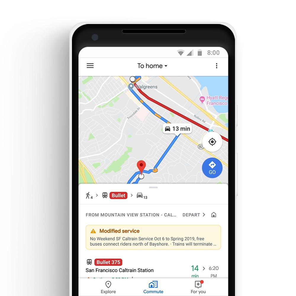 L'app Google Maps va s'enrichir d'Apple Music, Spotify et des trajets quotidiens multi-transports 1