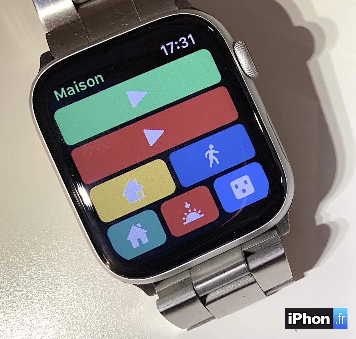 Homerun : nouvelle app pour piloter ses accessoires HomeKit depuis l'Apple Watch (complications) 1
