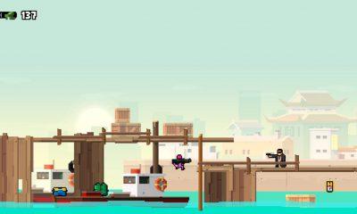 Hot Guns : tir et action tout en pixels pour un cocktail rétro savoureux sur iPhone, iPad 5