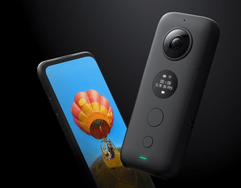 Insta360 ONE X : la nouvelle caméra 360 connectée iPhone 1