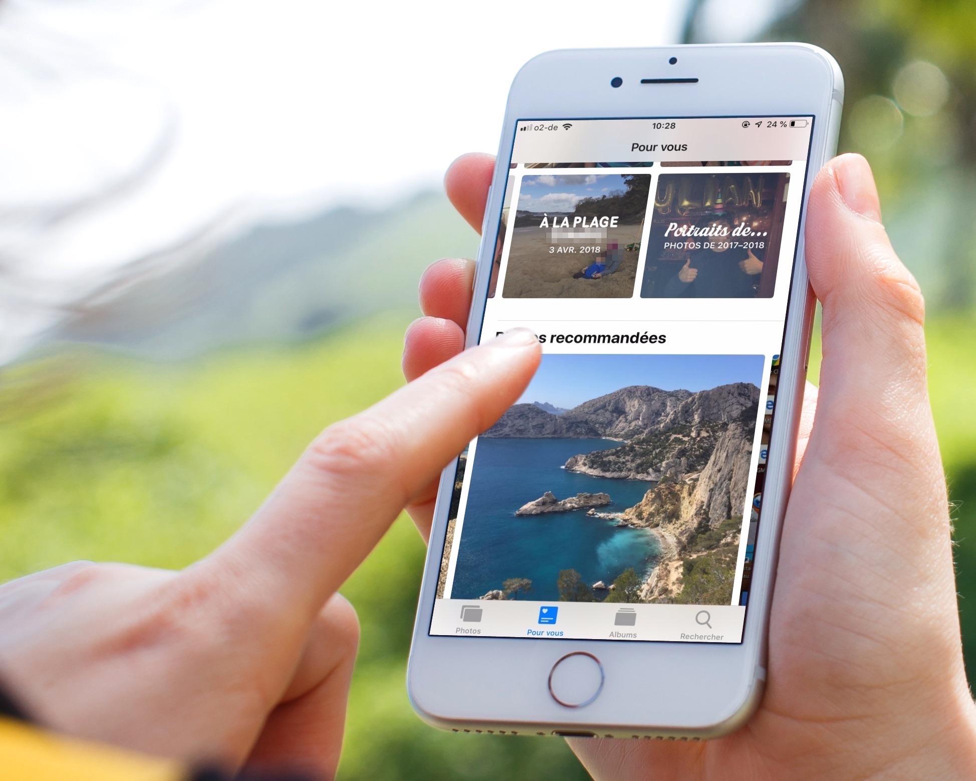 Avec iOS 12 : des nouveautés plus ou moins visibles pour retrouver et gérer ses photos (Rechercher, Pour vous, etc.) 1