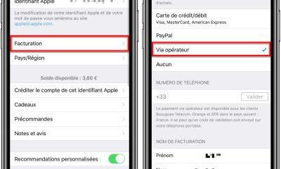 Payer apps et médias iTunes sur sa facture : désormais possible chez SFR Red 11