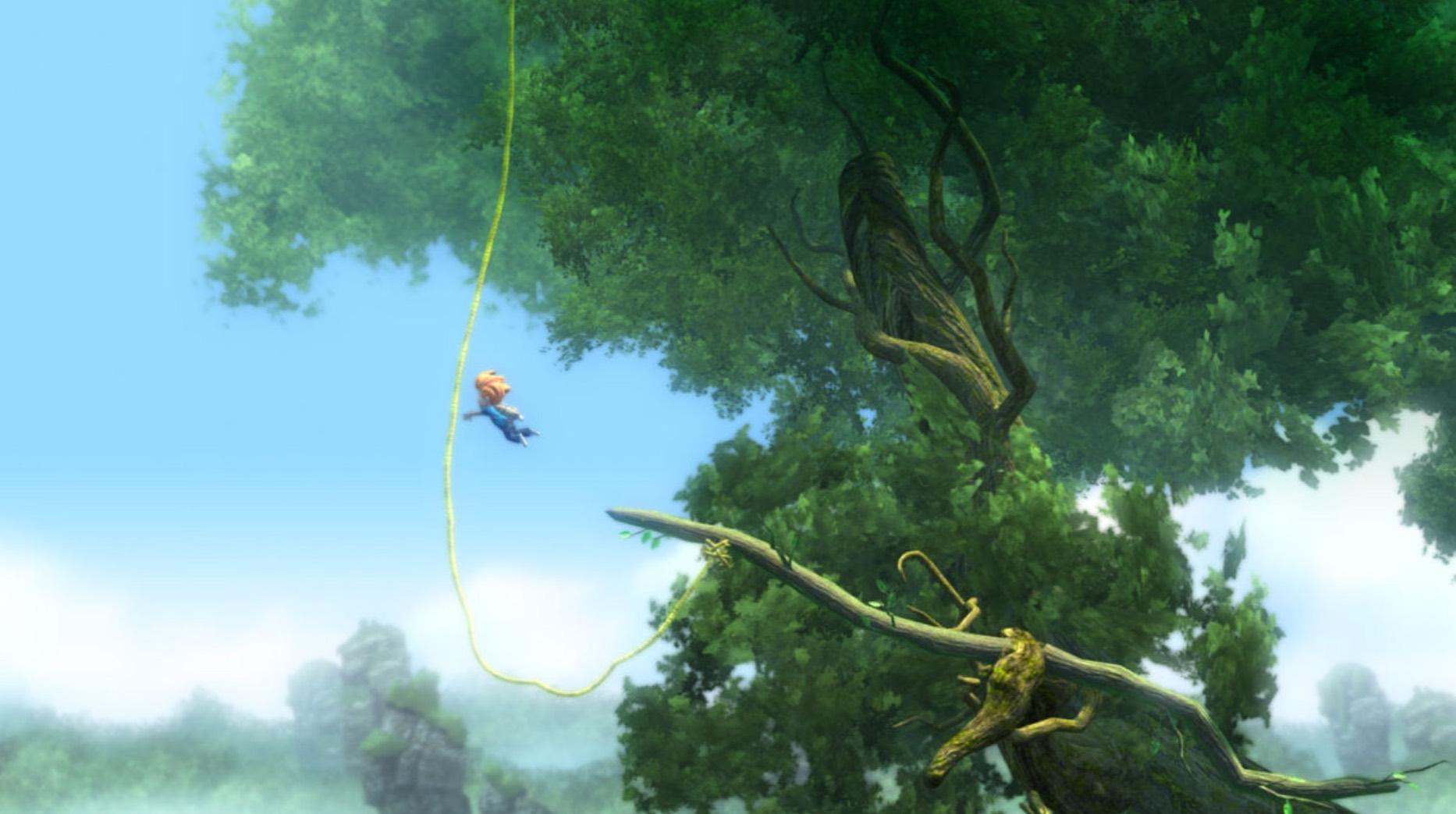 """Test : superbe jeu de plate forme, Max revient en forme pour sauver son frère dans """"The Curse of Brotherhood"""" iOS 1"""