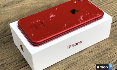 iPhone XR rouge arrière