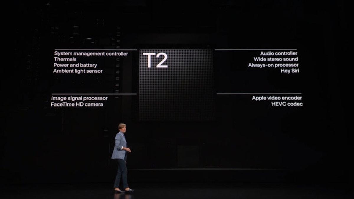 Puce T2 MacBook Air