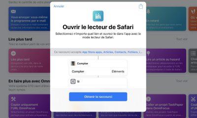 Mise à jour de l'app «Raccourcis» avec de nouvelles fonctions météo, alarme, etc. 19