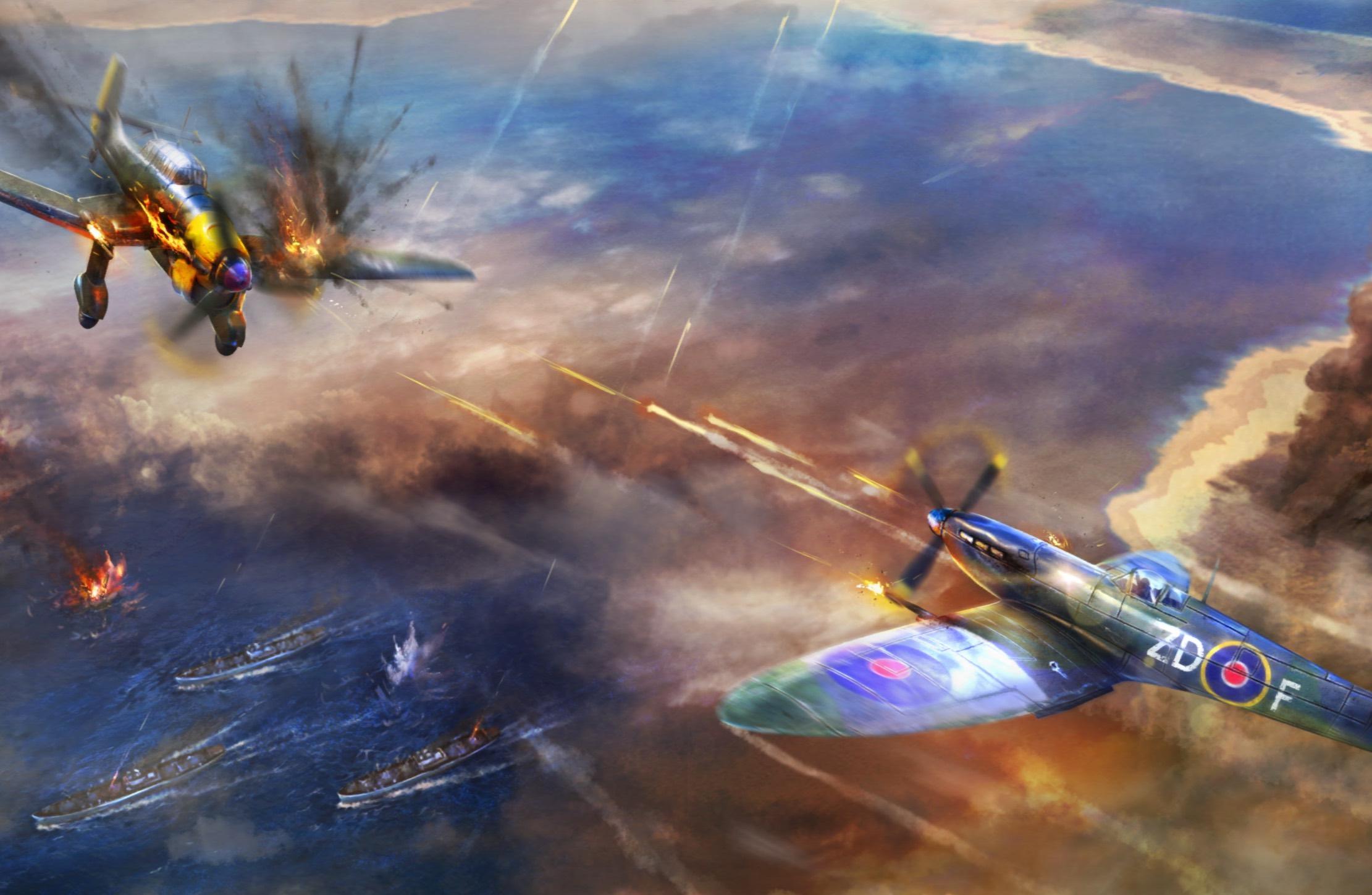 """""""Warplanes: WW2 Dogfight"""" : devenez un as du pilotage et des combats aériens sur iPhone et iPad 1"""