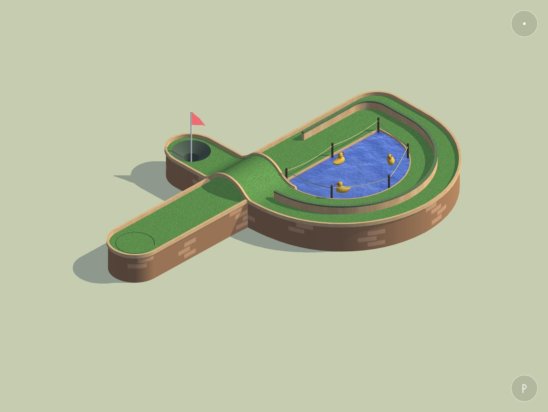 Test Alphaputt : le jeu de mini-golf se joue des 26 lettres de l'alphabet en beauté sur iPhone et iPad 1