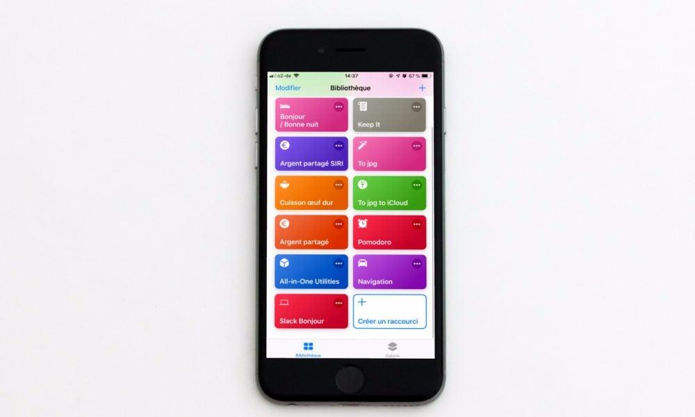 Raccourcis d'Apple : comment ça marche