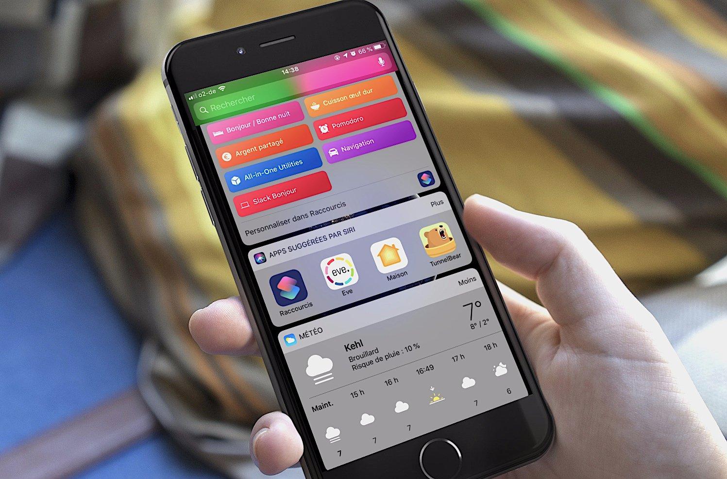 Tuto Raccourcis iOS (3ème partie) : créer un raccourci pour sa routine du matin/soir (condition, réglages, réveil) 1