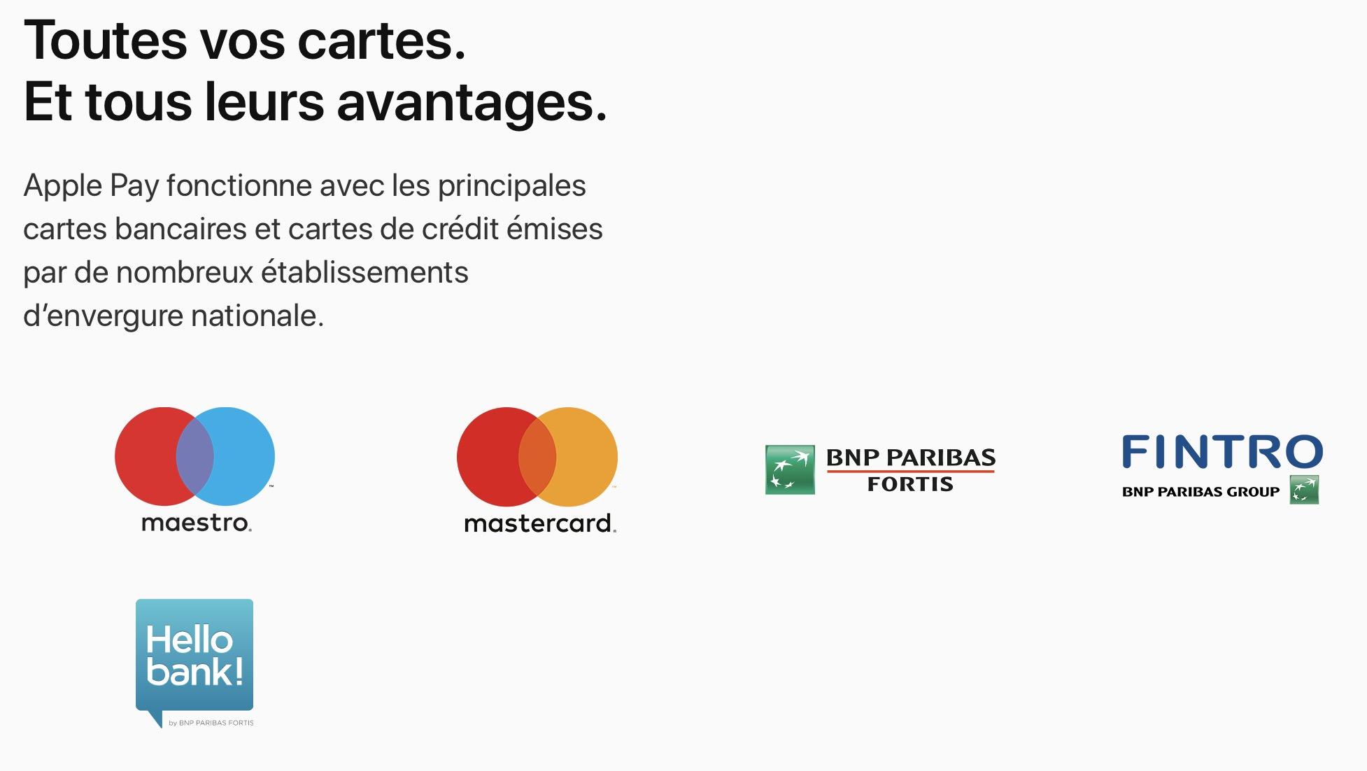 Le paiement par Apple Pay est désormais disponible en Belgique 1