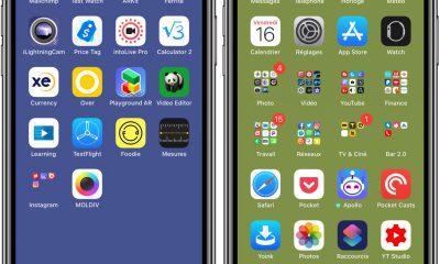 Les fonds d'écran qui font disparaitre le dock iPhone sont de retour ! 3