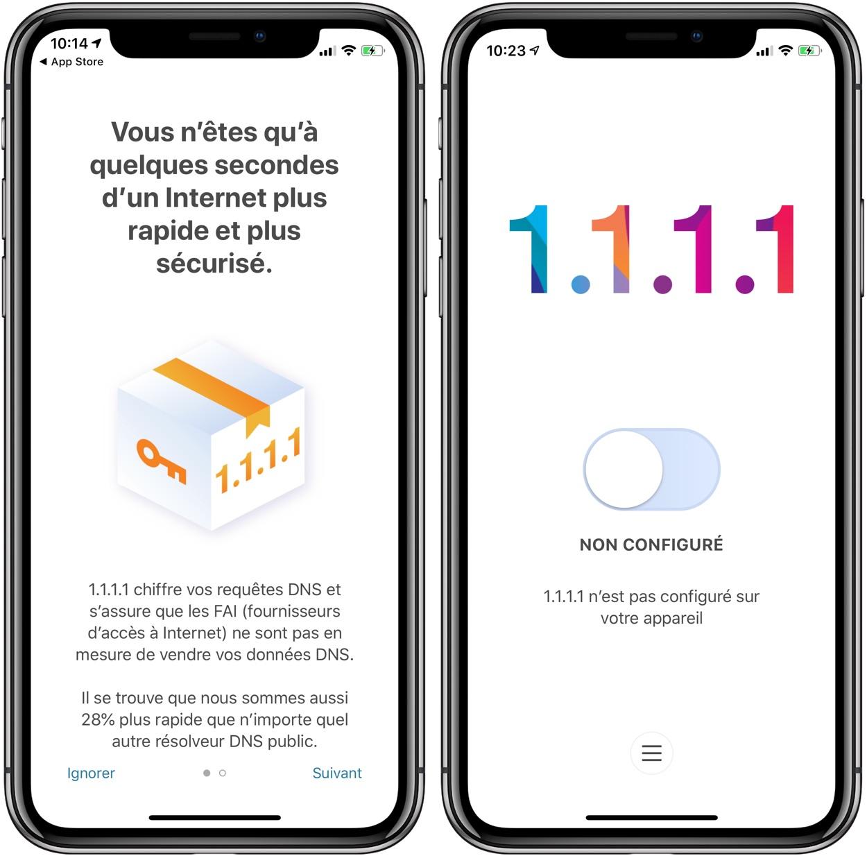 Nouveau : l'app Cloudflare mobile passe les restrictions géographiques et permet de surfer plus vite 1