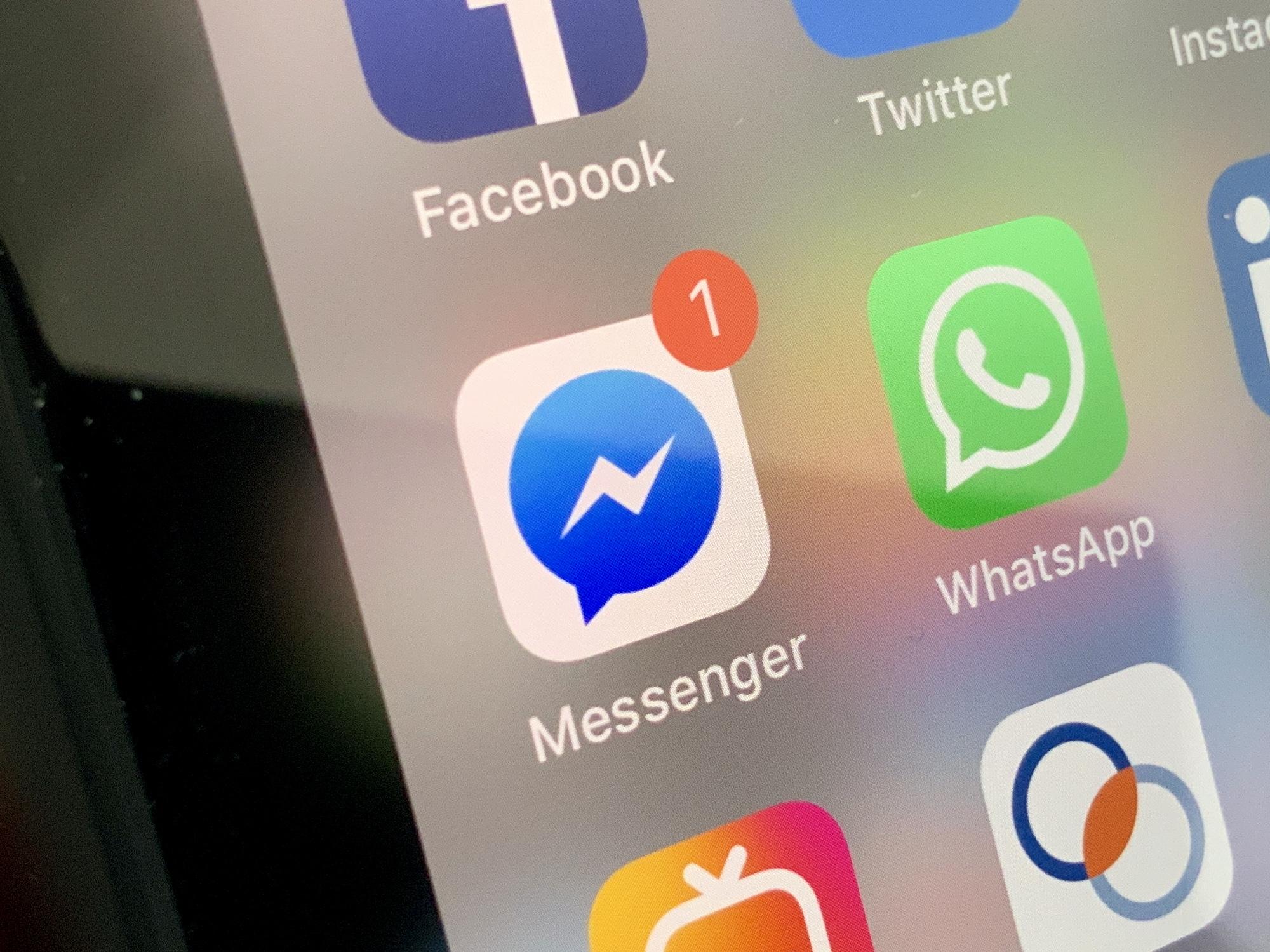 Facebook travaille à unifier toutes ses messageries : Instagram, WhatsApp et Messenger 1