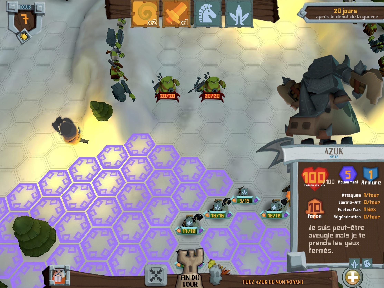 Test Farabel : subtil mélange de jeu de rôle inversé et de stratégie pour ce nouveau jeu iPhone, iPad 1