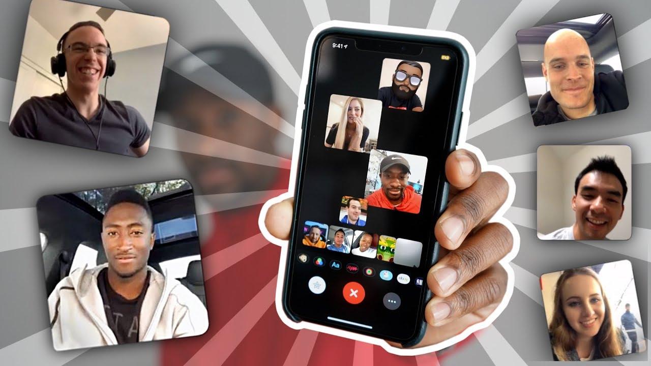 Un appel Facetime à 30, ça donne quoi ? Réponse avec 30 YouTubers techs 1