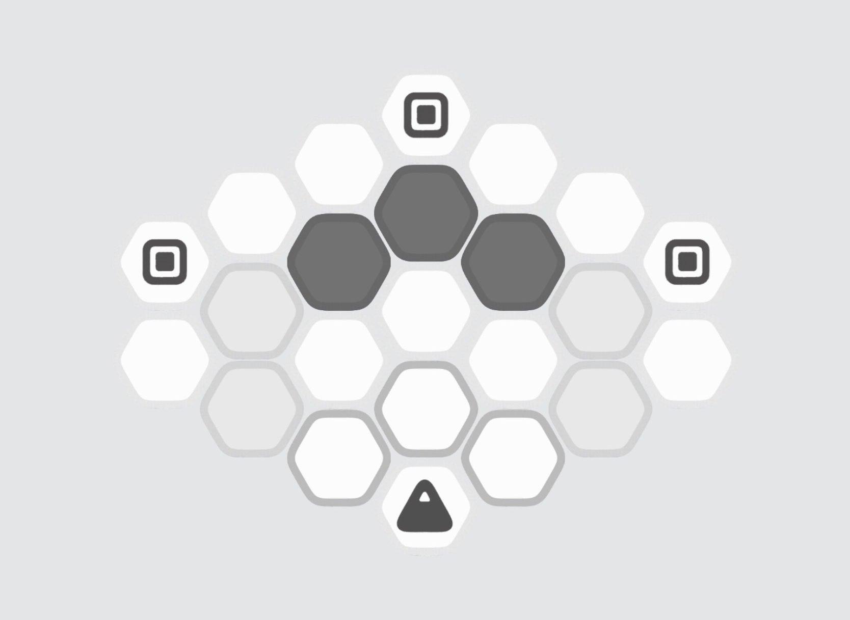 Soyez plus malins que l'I.A. dans le minimaliste Hexanome, un bon casse-tête iPhone, iPad 1