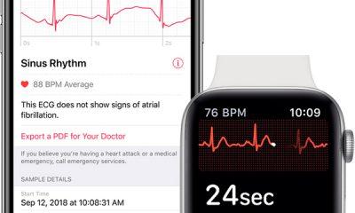 Apple Watch Séries 4 : la mesure de l'Electrocardiogramme désormais disponible dans de nombreux pays dont France, Belgique, Suisse, etc. 25