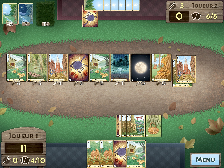 Test Morels : réalisez les plus belles poêlées de champignons, dans un jeu de cartes iPhone, iPad 1