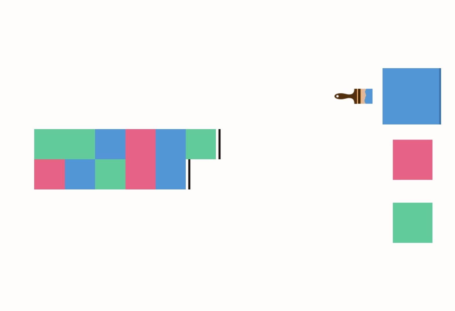 Paintiles : des casses-têtes à résoudre à coups de pinceau sur iPhone, iPad 1