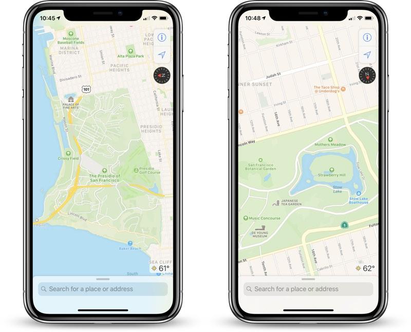 C'est à pied qu'Apple va améliorer les itinéraires dans Plans 1