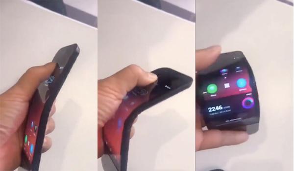 """Vidéo : voilà à quoi ressemble un smartphone pliable """"en vrai"""" 1"""