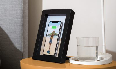 Et voici un cadre photo qui recharge l'iPhone sans-fil (Qi) 21