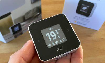 Promo flash courte -25 % / Test du Eve Room v2 : capteur air et température avec écran, compatible HomeKit/Siri 23