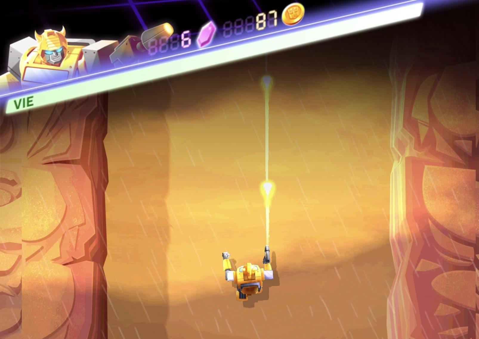 Nouveau jeu Transformers : un runner sympa pour Bumblebee et ses alliés, sur iPhone et iPad 1